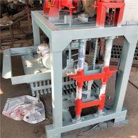 (厂家供应)铼申4-40液压小型砖机 全自动免烧砖设备 水泥制品机械