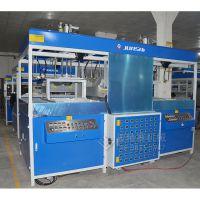 福建ABS旅游行李箱吸塑热成型机 拉杆箱双工位吸塑机效率高