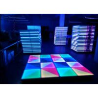 LED跳舞地板砖 亚克力地板砖 1X1m地砖 DMX RGB酒吧地板