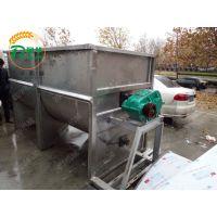 河北滦县羊饲料搅拌机 大螺旋混料机 易清理的混料机
