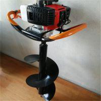 打坑机 新款单人手提式挖坑机 果树施肥打坑机型号