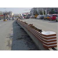 道路隔离花箱 马槽市政道路花箱 城市绿化工程花箱 户外花箱定做