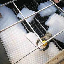 水处理填料污水沉淀隔离 处理效果高 蓝宇蜂窝斜管填料价格