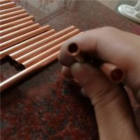 紫铜管 空心T2铜管 外径3mm内径2mm壁厚0.5mm精密红铜管 纯铜管材