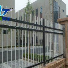 锌钢小区围墙网 工厂外墙防盗栏杆 锌钢护栏网规格