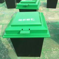 献县鑫建供应户外地埋式垃圾桶 环卫垃圾箱 钢板垃圾桶 小区高档垃圾箱厂家批发