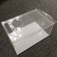 东莞拓源有机玻璃爬虫盒 亚克力宠物饲养盒 透明 亚克力宠物箱子定制
