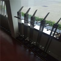 耀荣 专业加工制作304不锈钢楼梯栏杆立柱及各类配件 设计安装加工