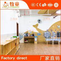 专业幼儿园设计公司 早教中心中班室内装饰 幼儿园室内设计厂