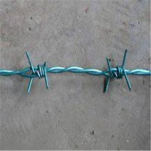 PVC涂塑刺绳 刺绳护栏网 刺钢丝