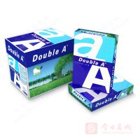 Double A复印纸A4 厂家批发 80g 500张 对光看,纸浆均匀细腻,无粗块