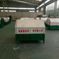 厂家直销垃圾箱 户外勾臂式垃圾箱 铁质垃圾箱