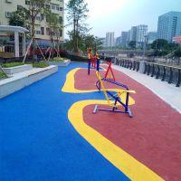 广州福顺体育特美莱幼儿园EPDM彩色橡胶跑道厂家直销