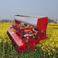 启航牌小颗粒种子播种机 拖拉机带蒲公英精播机厂家 中药材播种机