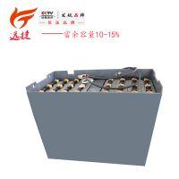 叉车电瓶组 电瓶蓄电池 叉车配件 电动车电池6VBS600-48V批发价