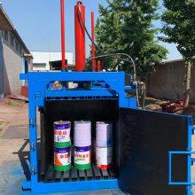 废铁皮压块机参数 大型品质高的打包机 普航液压打包机厂家