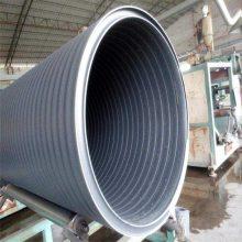 厂家供应临澧县缠绕管大厂家 中空壁缠绕管哪家质量好