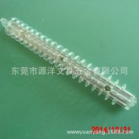 供应优质 塑料透明塑钢夹子 20孔活页夹 PP文件孔夹 塑料夹子