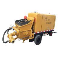 申鑫牌高效率HBT-12D泵送式湿喷机 隧道喷浆机 混凝土喷射泵