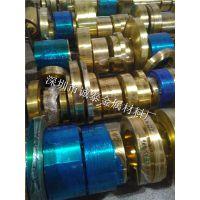 东莞现货H65冲压黄铜卷料 深拉伸黄铜带 超薄纯铜箔供应