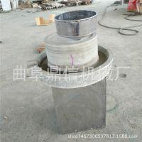 小型豆浆豆腐石磨 新型不锈钢托盘电动石磨机 石磨原材料