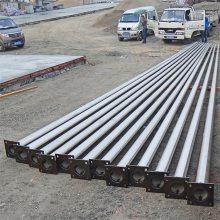金裕 9米、15米不锈钢锥形旗杆 户外学校、操场旗杆 厂家直销