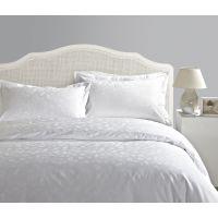 酒店纺织品厂家批发纯棉星级酒店床上用品提花40支60支高支高密套件