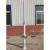 供应10米承载监控摄像头升降平台 地面固定式升降杆