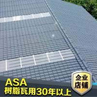 潮州农村房屋瓦 ASA防腐屋顶瓦片 别墅彩钢瓦批发直销