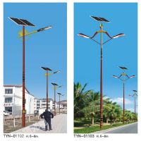 山东普硕光电TYN19001高亮太阳能路灯30瓦高6米