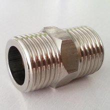 欧希公司生产不锈钢锻造内外丝 304L不锈钢短节 316L内丝螺纹短节