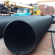 排污工程PE钢带增强排污管生产厂家