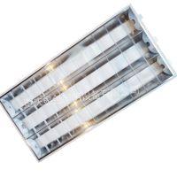 飞利浦格栅灯盘TBS068 3*36W可配90分钟应急电池系统