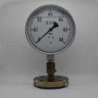 全不锈钢法兰隔膜压力表PYTF-100HF2B