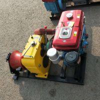 【刻发】机动绞磨机3吨5吨 柴油汽油电动牵引机 电缆卷扬机