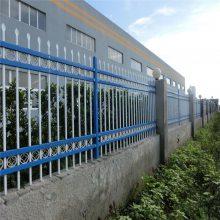 停车区外围隔离栏杆 围墙防护栏图片 南宁锌钢围墙护栏