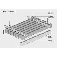改造街道工程室内吊顶铝方通