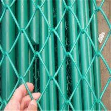 pvc勾花网价格 佛山球场勾花网 围栏规格