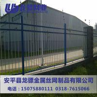 组装型围墙护栏 锌钢护栏 铁艺围栏