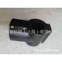 Bezel生产BZ-011-T小圆管夹头 黑色加强尼龙小联合三通输送机配件
