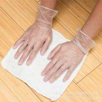 厂家直销一次性pvc透明无粉手套 美容美发 食品加工 医用检查手套