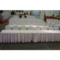 西安大量贵宾椅长条桌物料租赁