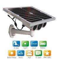 wanscam HW0029-5野外防水套线太阳能网络摄像机 森林防火监控摄像头