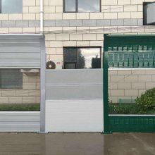 河南厂家设计安装空调冷却塔声屏障 小区商场隔音墙 高架景观强力隔音降噪板