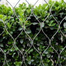 不锈钢304 卡扣绳网围栏网动物笼舍建筑商场天台防坠网加工定制(厂家直销)