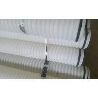 专业批发定制生产三维HDPE双臂 DN100mm打孔料波纹管