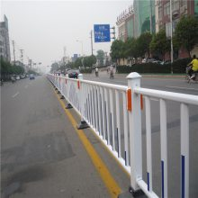锌钢道路护栏 市政公路隔离栏 路中央反光标隔离栏