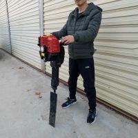 安徽汽油挖树机 富兴牌汽油移栽机 挖树机价格