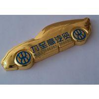重庆汽车金属车标厂家镀金车标制作车友会标牌定制