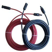 太阳能光伏电缆线束/TUV认证MC4带线光伏连接器